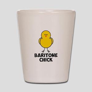 Baritone Chick Shot Glass