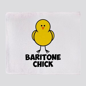 Baritone Chick Throw Blanket