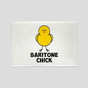 Baritone Chick Rectangle Magnet
