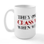 Class Warfare Large Mug