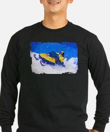 Cute Snow mobile T