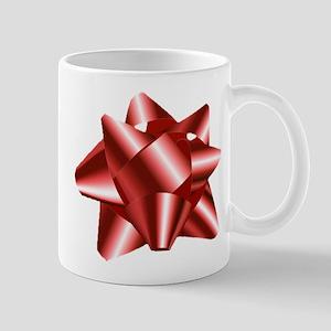 Christmas Red Bow Mug