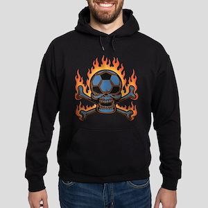 Soccer Pirate IV -flm Hoodie (dark)