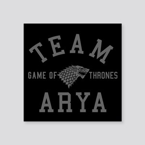 GOT Team Arya Sticker