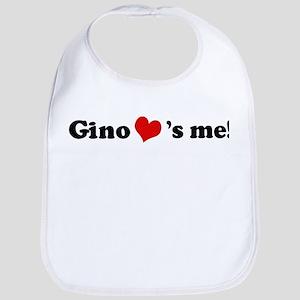 Gino loves me Bib
