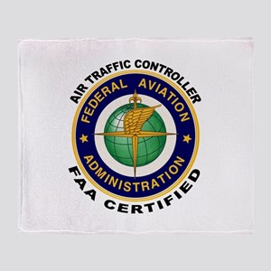 Air Traffic Controller Throw Blanket