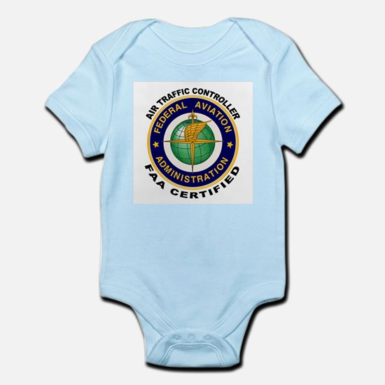 Air Traffic Controller Infant Bodysuit