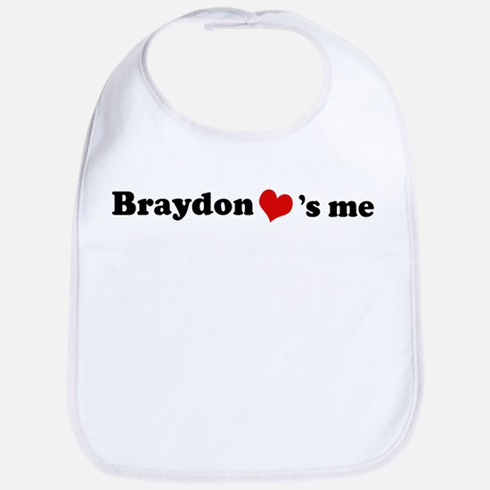 Braydon loves me Bib