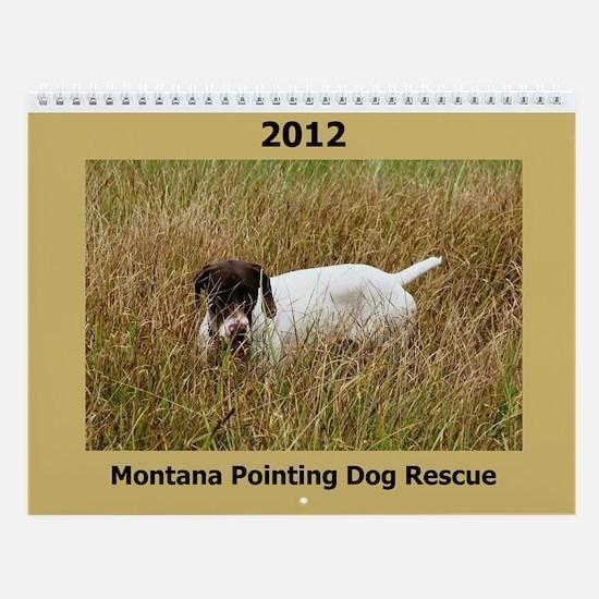 2013 Montana Pointing Dog Rescue Calendar