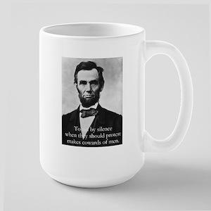 Lg. Lincoln Mug