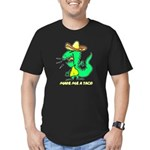 Make Me A Taco Men's Fitted T-Shirt (dark)