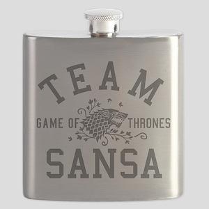 GOT Team Sansa Flask