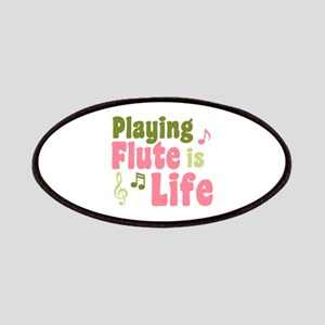 Flute is Life Patches