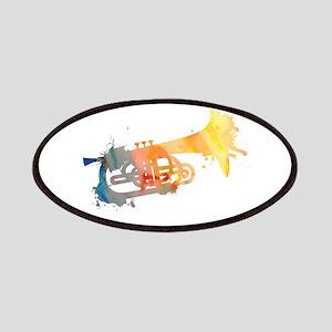 Paint Splat Mellophone Patches