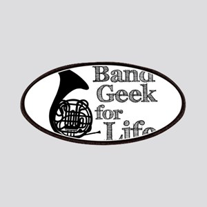 French Horn Band Geek Patches