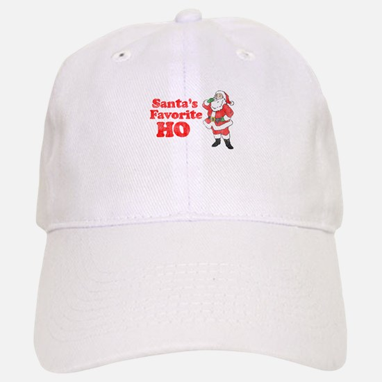 Santa's Favorite Ho! Baseball Baseball Cap