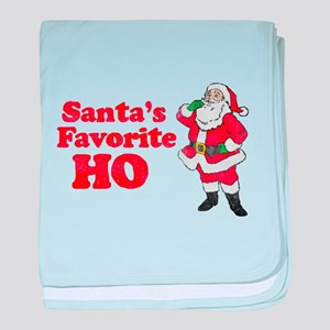 Santa's Favorite Ho! baby blanket