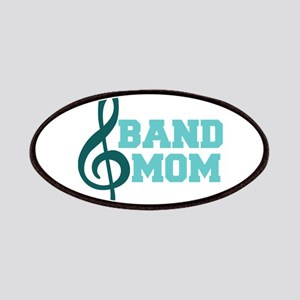 Treble Clef Band Mom Patches