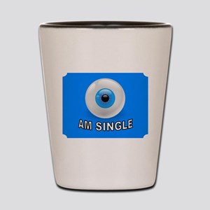 LOOKING FOR LOVE Shot Glass