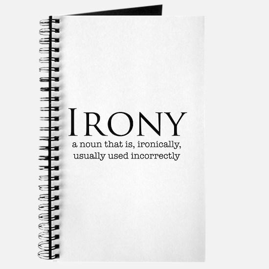 Irony - Journal