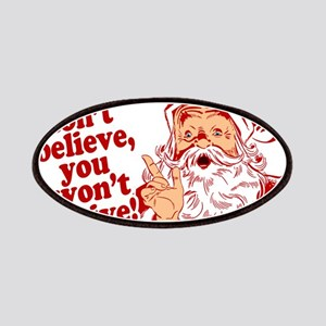 Believe in Santa Claus Patches