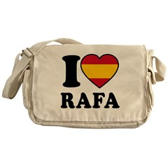 I Love Rafa Nadal Messenger Bag