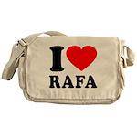 I (Heart) Rafa Messenger Bag