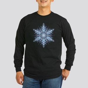 Snowflake 23 Long Sleeve Dark T-Shirt