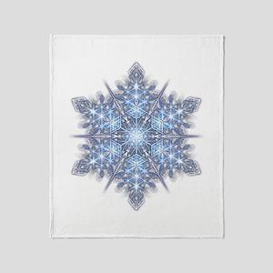 Snowflake 23 Throw Blanket