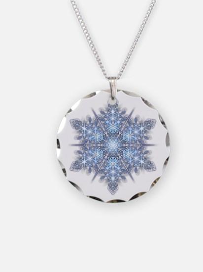 Snowflake 23 Necklace