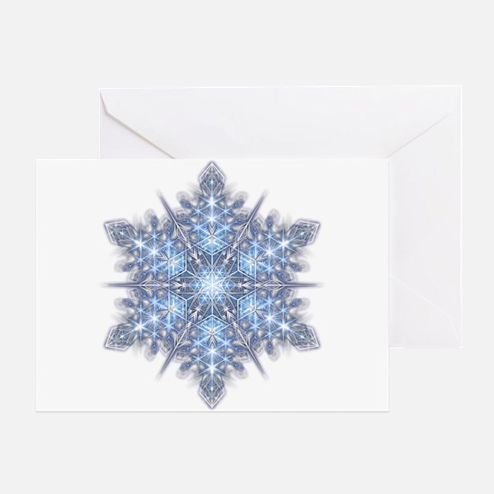 Snowflake 23 Greeting Card
