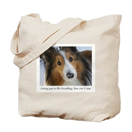 Loving you is like breathing, how can I s Tote Bag