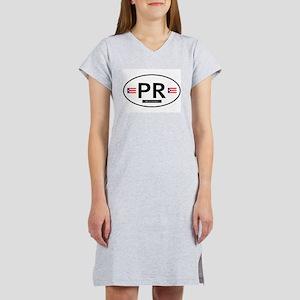 Puerto Rico Women's Nightshirt