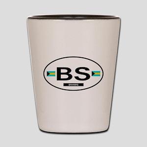 Bahamas 2F Shot Glass
