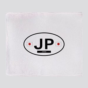 Japan 2F Throw Blanket