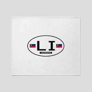 Lichtenstein 2F Throw Blanket