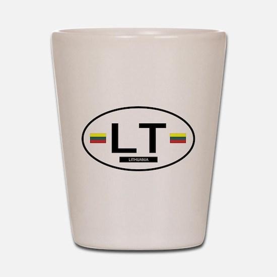 Lithiuania 2F Shot Glass