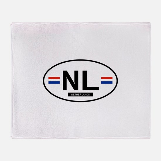Unique Netherlands Throw Blanket