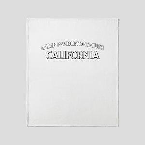 Camp Pendleton South California Throw Blanket