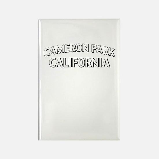 Cameron Park California Rectangle Magnet