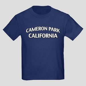 Cameron Park California Kids Dark T-Shirt
