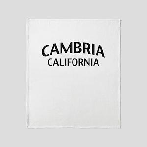 Cambria California Throw Blanket