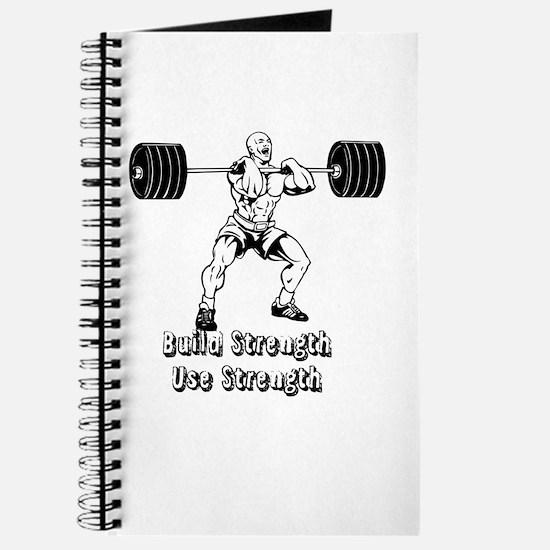 Build Strength, Use Strength Journal