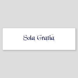 Sola Gratia Sticker (Bumper)