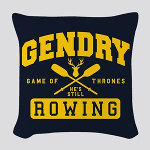 GOT Gendry Rowing Team Woven Throw Pillow