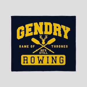 GOT Gendry Rowing Team Throw Blanket
