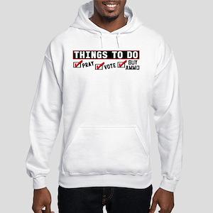 """Things To Do"" Hooded Sweatshirt"
