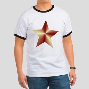 Bronze Star Ringer T
