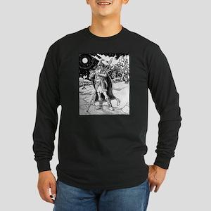 Father Yule Long Sleeve Dark T-Shirt