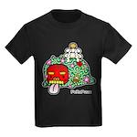 New year PeRoPuuu Kids Dark T-Shirt